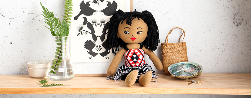 These Māori soft dolls are family favourites. Check out the full range of soft and cuddly toys.